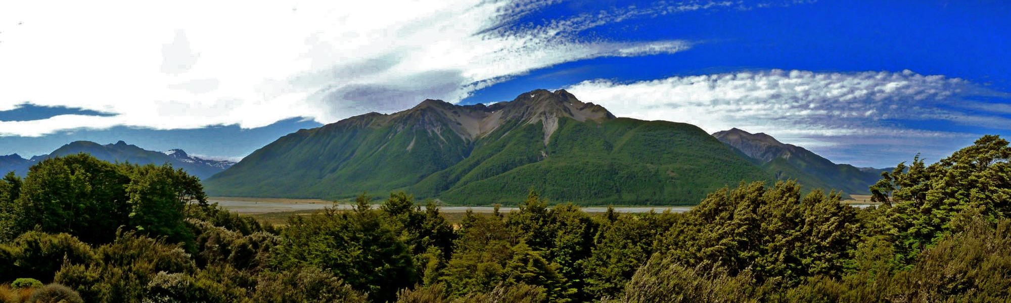The view from New Zealand's Wilderness Lodge on the West Coast of the South Island is simply stunning