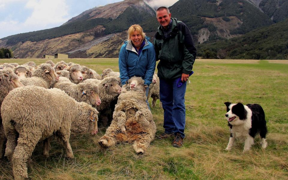 Get hands on and enjoy a real farm stay experience at Wilderness Lodge in New Zealand.