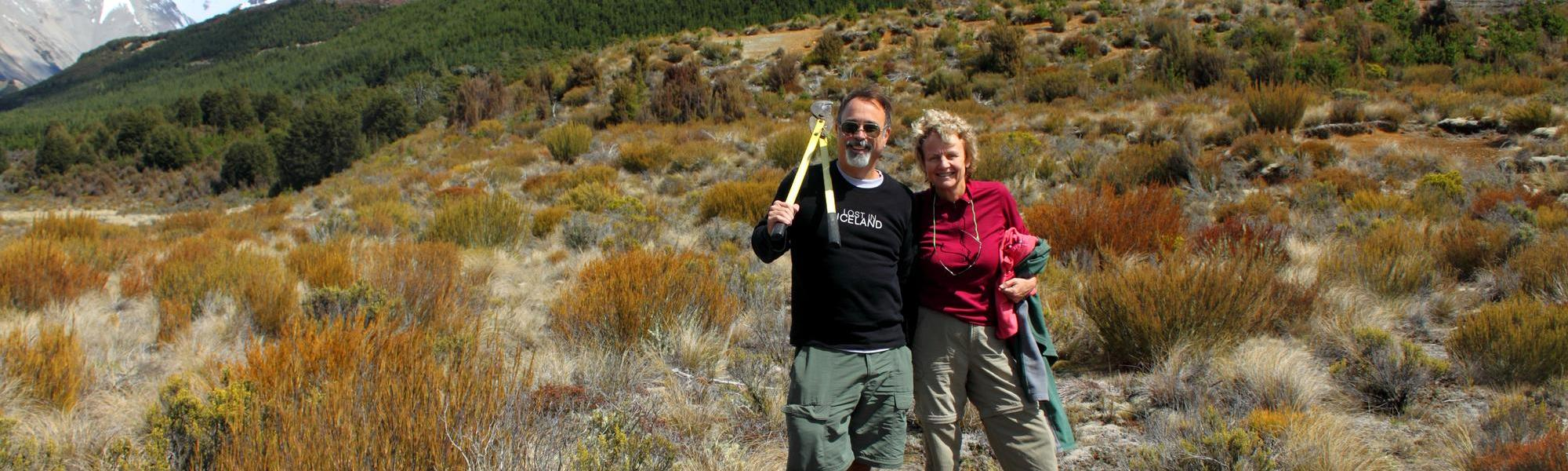 Saving 'Dragon's Tooth' shrublands from invading conifers on the West Coast of New Zealand's South Island.